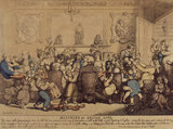 MISERIES OF SOCIAL LIFE, by Rowlandson, 1807