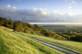 The view east at Reigate Hill on the North Downs, Surrey