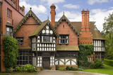 The Entrance Front of Wightwick Manor, Wolverhampton, West Midlands