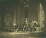 Washing Potatoes, St Remy