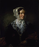 PORTRAIT OF ANNE POTTER, C19th English School, at Cragside