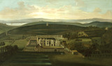 PANORAMIC VIEW OF CLEVEDON COURT by P. Tillemans