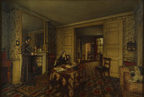THE CHELSEA INTERIOR OR THE CARLYLE'S AT CHEYNE ROW, by R