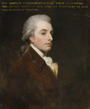 SIR GEORGE THROCKMORTON, 6th Bt (1754-1826), in the style of George Romney