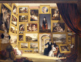 A MODERN PICTURE GALLERY by William Frederick Witherington RA (1785-1865)