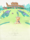 Cliveden, Maidenhead, Buckinghamshire, an illustration by artist Takumasa Ono