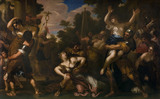 THE RAPE OF THE SABINES (RAPE OF THE SABINE WOMEN) after Pietro da Cortona (1742-90)