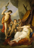 BACCHUS AND ARIADNE by Angelica Kauffmann (1741-1807)