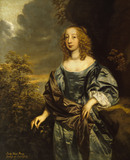 LADY ANNE PERCY, COUNTESS OF CHESTERFIELD(1633-1654) by P. Lely Lady Stanhope