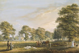 ENTRANCE TO WINDSOR GREAT PARK AT BISHOPSGATE by Paul Sandby