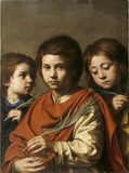 THREE BOY MARTYRS, Italian, 17th-century, at Attingham Park