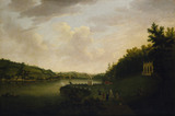 THE AMPHITHEATRE AT SALTRAM 1770 by William Tomkins (1730 1792)