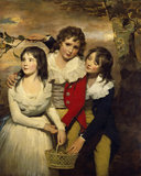 The Paterson Children by Sir Henry Raebum RA(1756-1823)
