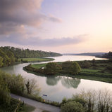View of the Plym Estuary at Saltram in Devon