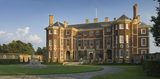 The North front and forecourt of Ham House, Surrey, the seventeenth century home of the Duke and Duchess of Lauderdale