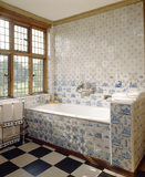 View of the Ireton Bathroom at Packwood House