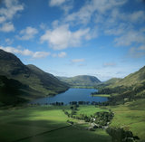Lake Buttermere viewed from Fleetwith Pike