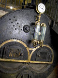 Detail of the Boiler used to power the steam engine at Quarry Bank Mill, Styal
