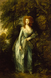 SUPPOSED PORTRAIT OF LADY MARY BRUCE, DUCHESS OF RICHMOND by Thomas Gainsborough at Ascott