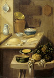 A KITCHEN SCENE by K. K. Lautter