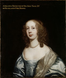 PORTRAIT OF APOLLONIA, DAUGHTER OF SIR JOHN YATE by Sir Peter Lely (1618-80)
