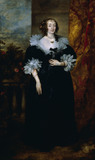 PORTRAIT OF LADY CATHERINE MANNERS, DUCHESS OF BUCKINGHAM by Sir Anthony Van Dyck