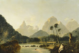 VIEW OF OAITEPEHA BAY, TAHITI by William Hodges (1744-91)