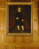 1ST EARL OF POWIS AS A BOY by Gainsborough, in the Oak Drawing Room at Powis Castle