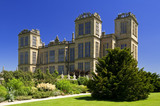 The west front of Hardwick Hall, Derbyshire
