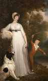 Maria Palmer Acland, Lady Hoare (d.1845) with her son