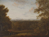 A Distant View of Windsor from a Wood