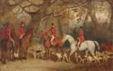 The Royal Hunt with the Master of the Royal Buckhounds, Charles F. Davis