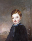 Robert Edward Chichester of Hall, Kent as a boy