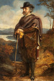 Marmion Edward Ferrers (1813-1884) out walking