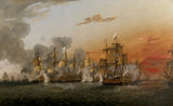The Battle of the Saints, 12th April 1782, 6.30 pm