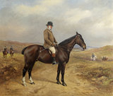 Captain George William Blathwayt (1824-1899) on a Bay Horse