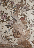 Chinese Wallpaper Detail from Ightham Mote