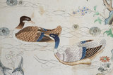 Chinese Wallpaper Depicting Birds, Flowers and Trees, Felbrigg Hall