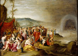 THE CROSSING OF THE RED SEA by Frans Francken II