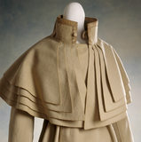 View of a wool caped coat, c.1820-30