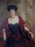 ALDA WESTON, LADY HOARE, died 1947, by St-George Hare, born 1857