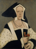 PAINTING OF MARGARET, MARCHIONESS OF DORSET after Hans Holbein