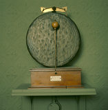 One of the electric gongs at Cragside, which warned guests that meal-times were approaching