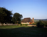 Alfriston Clergy House seen from the village green