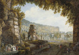 COLOSSEUM, by A. L. Ducros, 1748-1810 at Stourhead.