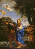 FLIGHT INTO EGYPT by C. Maratta