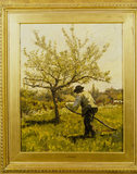 SCYTHING by James Charles (1851-1906)