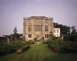 This is a view of the East Front of Newark Park, Gloucestershire