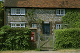 The Old Post Office housed in Daphne's Cottage in Bradenham, near High Wycombe, Buckinghamshire