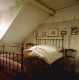 View of William's bedroom in Mr Straw's House